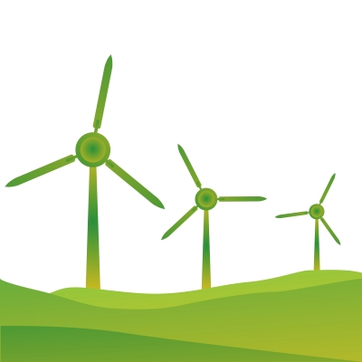 Green Wind Turbines